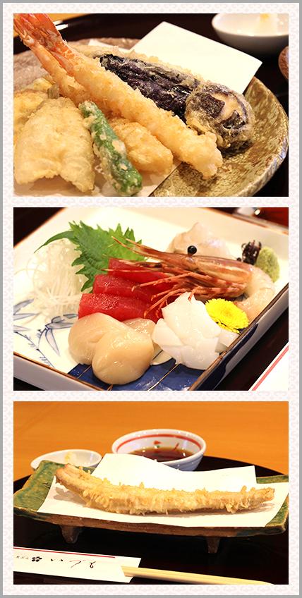 天ぷら写真